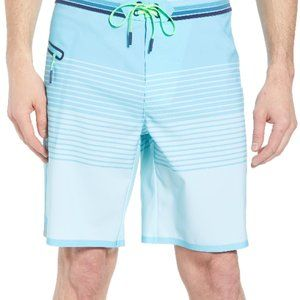 NWT Vineyard Vines Men's Stripe Tech Board Shorts